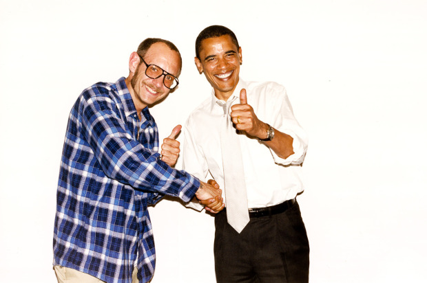 Terry Richardson i Barack Obama, źródło: andreawoo.wordpress.com