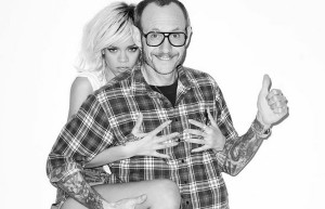 Terry Richardson i Rihanna, źródło: barcoderebel.wordpress.com